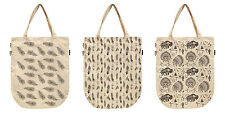 Women Feathers Patterns Printed Canvas Tote Shoulder Bags WAS_39
