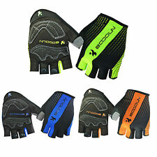 New Style Half Finger Outdoor Sports Cycling Bike Gloves Tri-colors HBT30