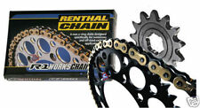 Renthal Chain And Black Sprocket Kit CR CRF 125/250/450/500 R X Motocross