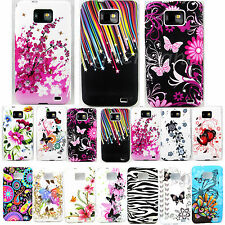 Soft Rubber Phone Accessories Gel Tpu Case Cover For Samsung Galaxy S2 II i9100