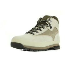 Chaussures Boots Timberland homme Euro Hiker Leather Green taille Beige Cuir