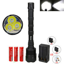 3800LM CREE T6 LED TR-3T6 Trustfire Tactical Gun Flashlight Torch Hunting light
