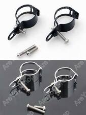 2 Colors Adjustable Turn Signal Relocation Fork Clamps 33mm 39mm 41mm 45mm
