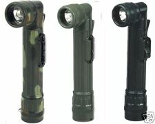 ''Mini'' Camouflage Army Style Flashlight  Blk-Grn-Camo