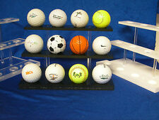 Golf Ball Display Rack - Holds 12 Balls
