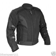 NEW ADVENTURE TECH MESH MOTORCYCLE JACKET CE ARMOUR ZIP OUT LINER AWESOME