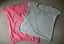 Ladies Plus Size Tops Beige Brown TU Size 22 or Pink Yours Size 20