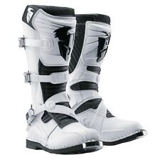 NEW THOR MX RATCHET MOTOCROSS DIRTBIKE OFFROAD BOOTS WHITE WHT ALL SIZES