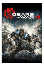 Gears Of War 4 Game Cover Poster New - Maxi Size 36 x 24 Inch