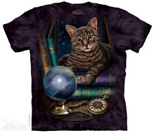 Fortune Teller Cat The Mountain Adult Size T-Shirt