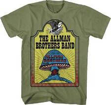 THE ALLMAN BROTHERS BAND - Hell Yeah! - T SHIRT S-M-L-XL-2XL Brand New Official