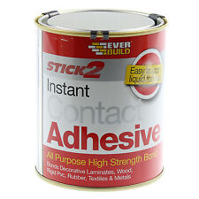 EVERBUILD 750ML STICK 2 INSTANT ALL PURPOSE HIGH STRENGTH BOND CONTACT ADHESIVE