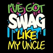 NEW Funny Baby Infant I've Got Swag Like My Uncle Onesie Shirt