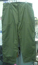 COLD WEATHER TROUSERS PERMEABLE OLIVE DRAB GREEN SMALL / MEDIUM / X-LARGE NWOT