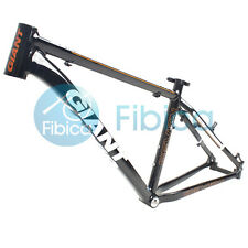 "New GIANT XTC 7 Seven Alloy MTB Mountain Bike Frame BSA 26er 17""/19"" S/M Black"