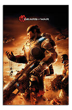 Gears Of War Key Artwork Gaming Large Wall Poster New - Maxi Size 36 x 24 Inch