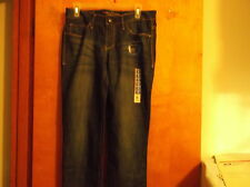 """BRAND NEW LADY'S """"FADED GLORY""""  STRAIGHT LEG  BLUE JEANS....#3"""