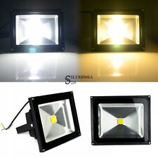 10-50W Bright LED Outdoor Garden Flood Security Light Lawn Lamp Cool/Warm White