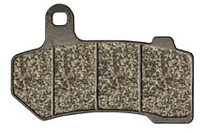 HARLEY DRESSER FLT, FLHT, FLHR & FLTR 2008/Later REAR BRAKE PAD SET