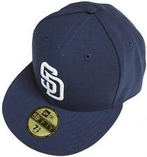 New Era San Diego Padres Cap Blue 59fifty Basic Fitted Basecap Cap Men New New