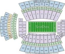 2 SOUTH CAROLINA VS UMASS FOOTBALL TICKETS LOWER SIDELINE NEAR50 10/22