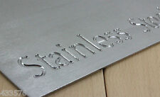 4 Kg's Stainless Steel Sheet Plate Offcuts Brushed Stainless Steel Pieces