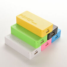 5600mAh 5V USB Power Bank Case 18650 Battery Charger DIY CASE For Cell PhoneMO