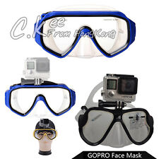 Diving Scuba Snorkel Swimming Underwater Face Mask For Gopro Hero 4 3+ 3 Color