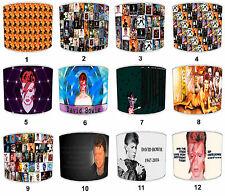 David Bowie Ziggy Stardust Table Lamp Shades Or Ceiling Light Shades Lampshades
