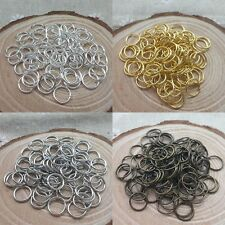 2000pc Wholesale Silver/Gold Plated Jump Rings Open Connector Finding 4/6/8mm CA