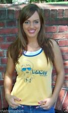New Authentic Mighty Fine Napoleon Dynamite Dang Ladies Tank Top