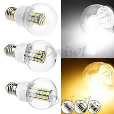4-9W E14 E27 E26 B22 27 41 47 63 SMD 5050 LED High Power Bubble Bulb 110V 220V