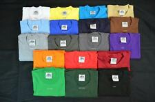 6 NEW PRO5 SUPER HEAVY WEIGHT T-SHIRT TEE PLAIN BLANK COLOR COTTON S-7XL 6PC