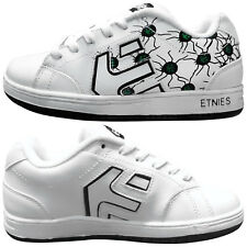 ETNIES JUNIOR CINCH SMU SHOES - NEW TRAINERS CASUAL SNEAKERS SPORT LEATHER SKATE