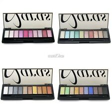 10 Colors Beautiful Eyeshadow Makeup Palette Glamorous Smoky Eye Makeup Kit
