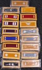 US ARMY MEN'S DRESS BLUE SHOULDER MARKS EPAULETS BOARDS VARIOUS RANKS NEW/USED