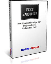 Pere Marquette Freight Car Diagrams - PDF on CD - RailfanDepot