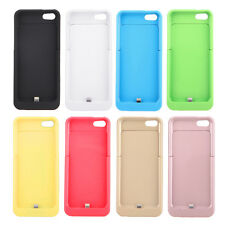 2200/4200mAh Backup External Battery Power Bank Case Charger for iPhone 5S 5SE