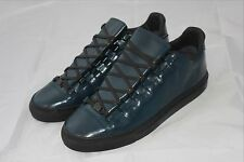 _Brand New Balenciaga Arena Cuir Corsaro Low Nuit Fonce EU43 44 Navy Leather