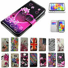 Megnetic Flip PU Leather Soft Case Cover Stand Wallet For Samsung Galaxy Phones