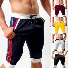 Men's Sports Gym Workout Exercise Shorts Athletic Pants Running Trunks Trousers