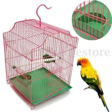 Metal Bird Cage Budgie Canary Parakeet Cockatiel Finch Lovebird Parrot Cages