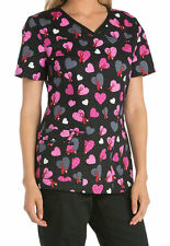 Dickies Medical Breast Cancer Awareness Hope is on the way Top Size XS-XXL NWT