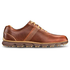 2014 FootJoy DryJoy Casual Golf Shoes CLOSEOUT Brown/Taupe NEW