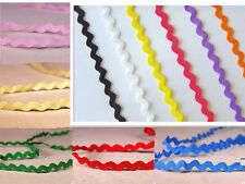 5-100m Ric Rac Lace Cord Lines Sewing Braid Doll scrapbooking S craft DIY Trim
