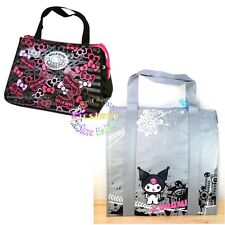 Sanrio Kuromi Hello Kitty Lunch Box Picnic Cooler Warmer Insulated Tote Bag