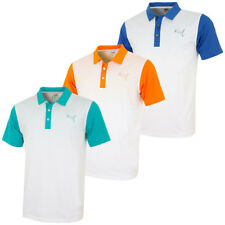 Puma Golf Mens GoTime Colorblock Fade DryCELL Polo Shirt 570877 44% OFF RRP