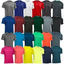Under Armour AW16 Mens UA T-shirt HeatGear Tech Short Sleeve Training Sports Tee