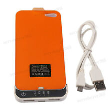 Backup Rechargeable Battery Power Bank Charger Case For iPhone 5 5G 2200mAh