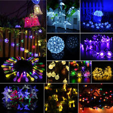 Solar/Battery Power Fairy Light String Lamp Wedding Party Xmas Home Garden Decor